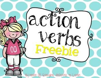 Working on action verbs?  Need a quick and easy assessment?  You're in luck!   Included: 3 foldable templates for action verbs 3 differentiated worksheets for homework, assessment, or early finishers.  Email any questions to everyonedeservestolearn@gmail.com