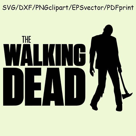 Walking Dead Logo SVG Zombie Clipart Cut File Vector Printable