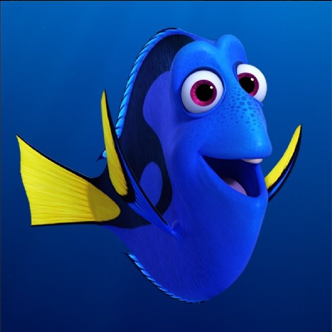 Dory in Finding Nemo #innocent #archetype #brandpersonality