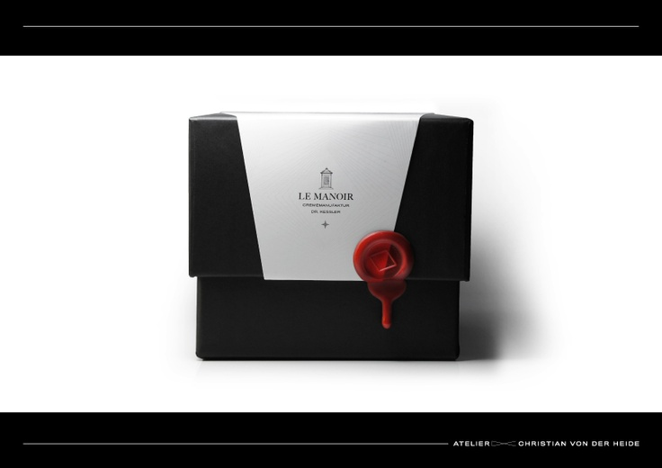 """""""The packaging designed by Atelier Christian von der Heide for the internationally renowned dermatologist Dr. Peter Kessler is as luxurious as the product inside it. Dr. Kessler's innovative concept – his formula individualis – is based on the use of skin measurement to create a personalized cosmetic cream. This deluxe approach to skin care is reflected in the packaging."""