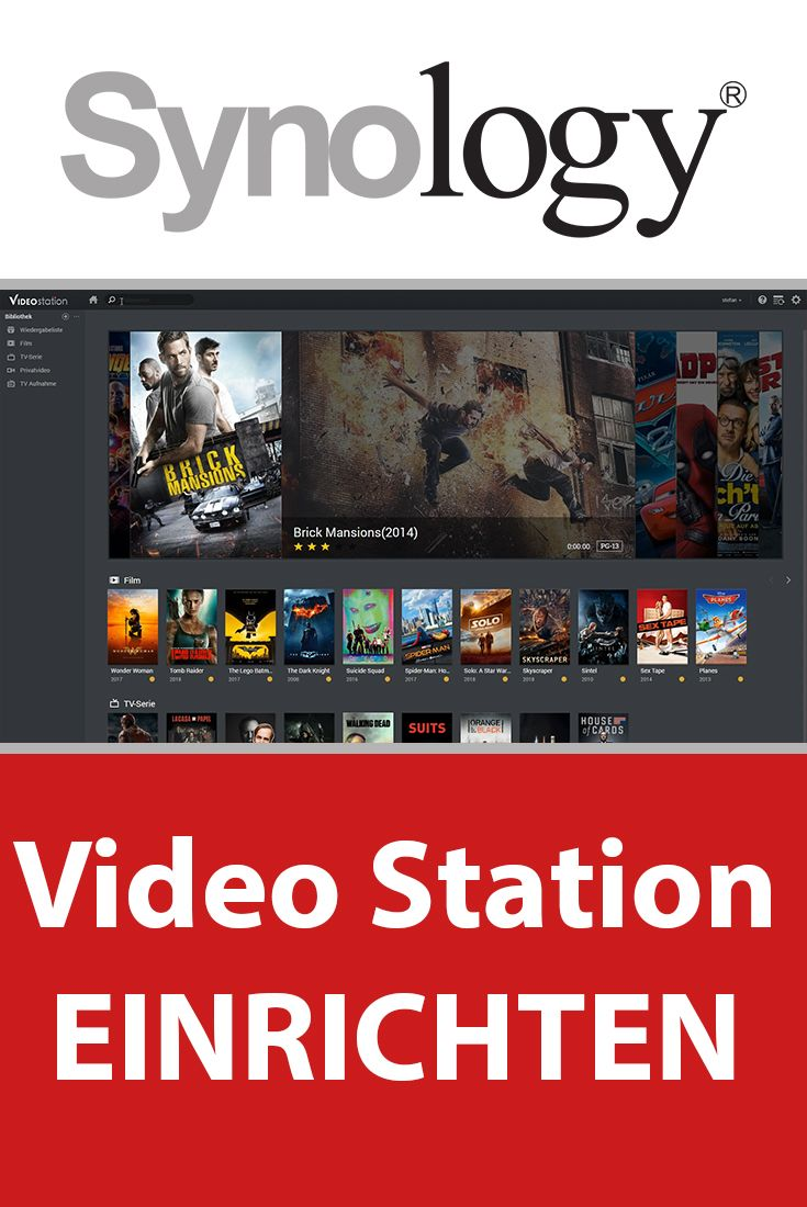 Synology Video Station einrichten - Synology DS Video  Video Station