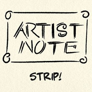 Check out the comic Artist Note :: Inking