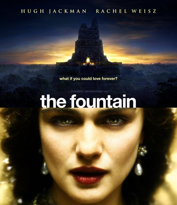 The Fountain - starring Hugh Jackman and Rachel Weisz - artwork by Bunny Dojo
