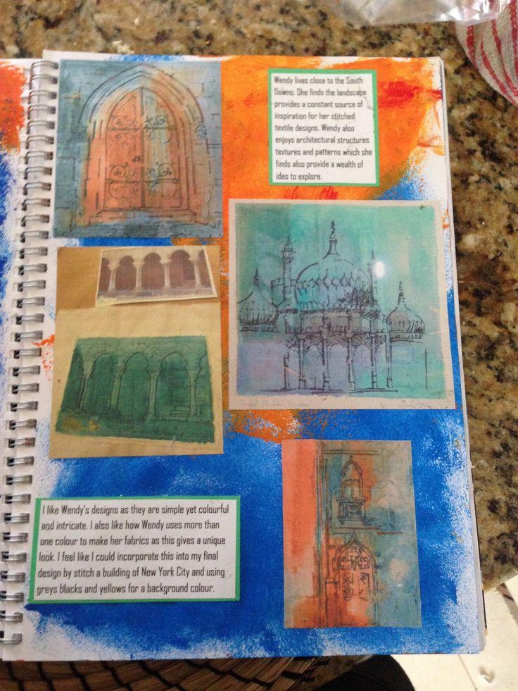 Artist study- Wendy Dolan