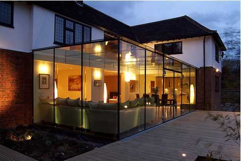 Harpenden House, a Beautiful Glass Extension