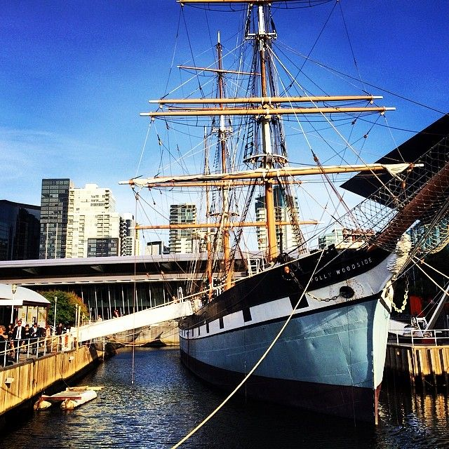 Polly Woodside Docklands. 5-10 min walk from Southern Cross Train Station