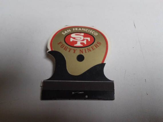 1975 San Francisco 49ers Matchbook with Schedule.