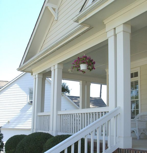 10 best tapered columns images on pinterest columns for Tapered craftsman porch columns
