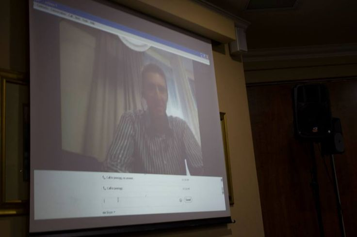 We had a Skype call with Gary Jones
