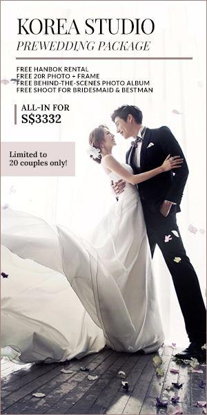 May Studio Korea Pre Wedding Photography Package