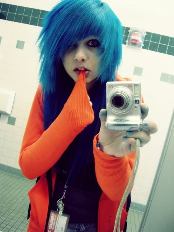 Emo Scene Haircuts For Girls Find Hairstyle