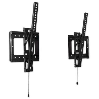 Check out this product! http://www.bedbathandbeyond.com/store/product/uno-innovations-split-tilt-wall-mount-for-32-inch-to-80-inch-tvs/1047617988