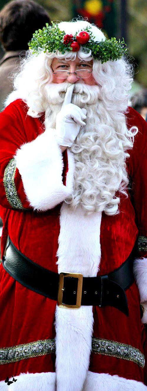 ~Merry Christmas Darling~ Santa...SHHHH --LadyLuxuryDesigns