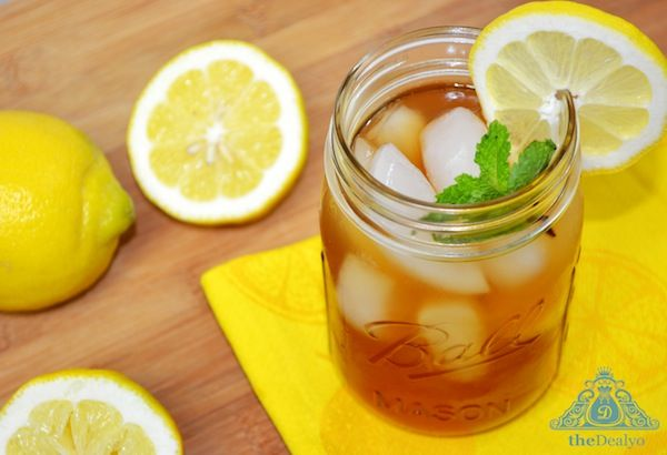 Snapple Lemon Iced Tea Recipe - Make it from home for less. theDealyo.com