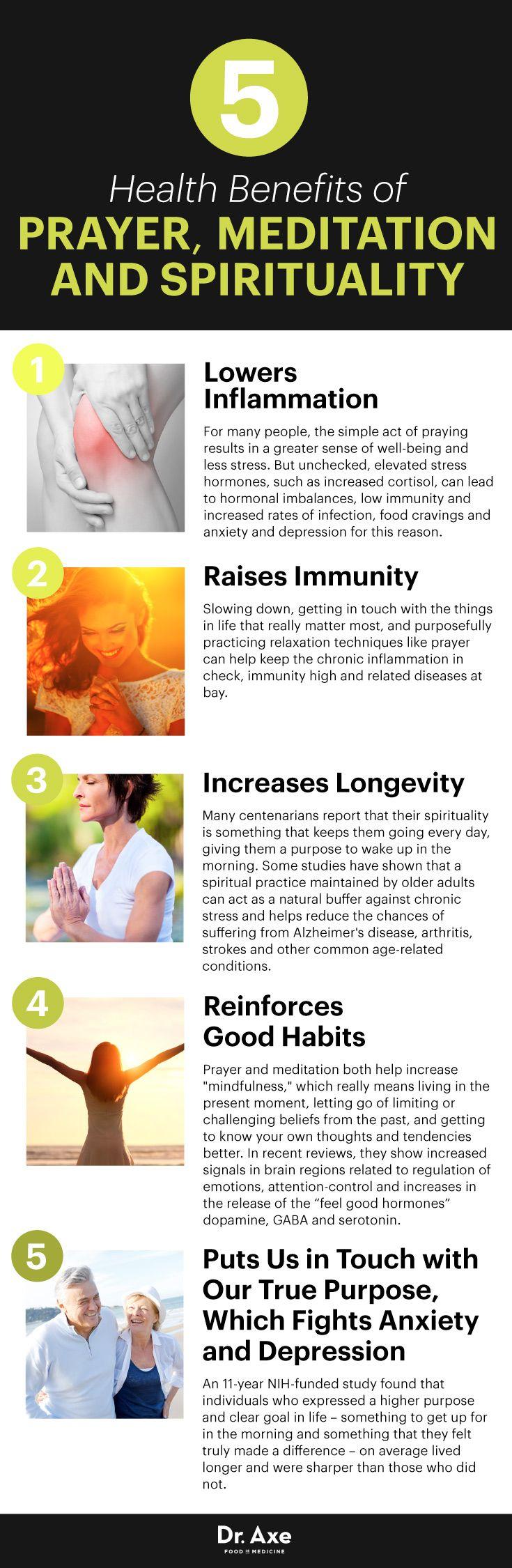 Healing prayer benefits - Dr. Axe http://www.draxe.com #health #holistic #natural