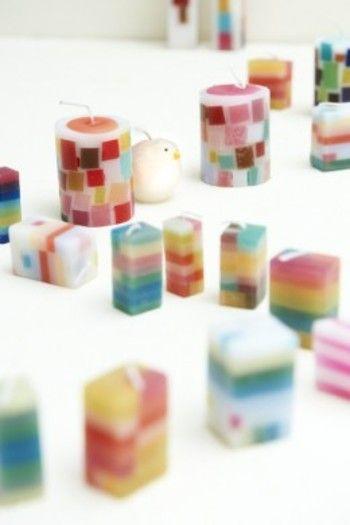 """""""nuri candle""""(ヌリ キャンドル)は、福岡生まれの福間乃梨子さんがつくっています。 彼女は、京都を中心にキャンドルを製作しているキャンドル作家さん。"""