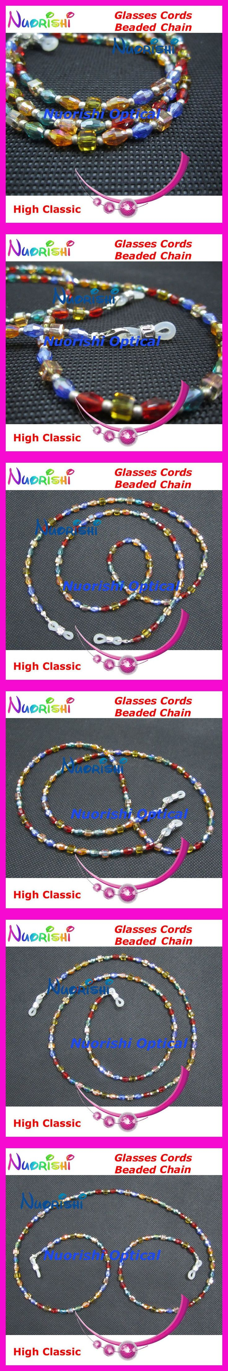 Free shipping L818 high classic nice beaded eyeglasses sunglasses eyewear spectacle chain cords $13.88