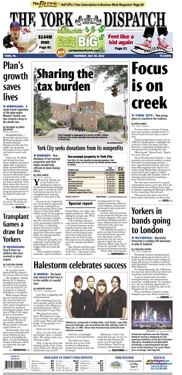 how to know printed or website newspaper