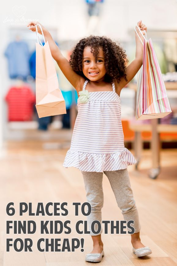 The best places to find kids clothes for cheap!