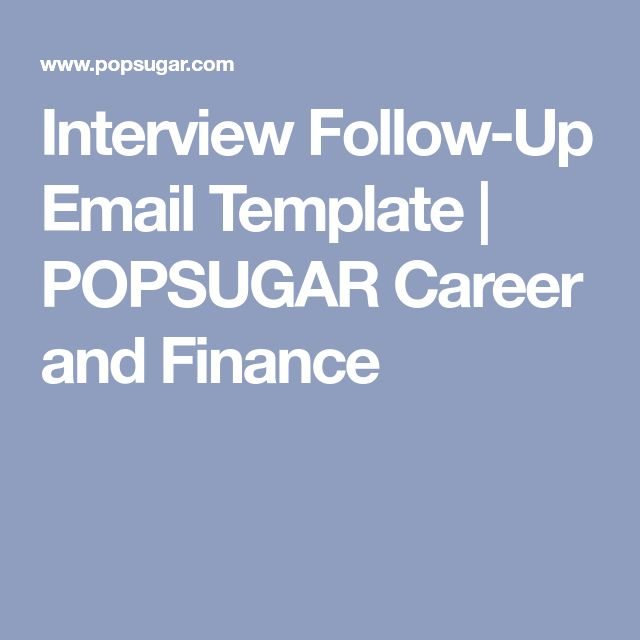 Cele mai bune 25+ de idei despre Interview follow up email pe - follow up email after interview template