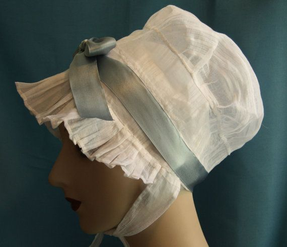 An indoor day cap is a must for anyone past their early 20's, or married. Jane Austen started wearing one when she was 23.