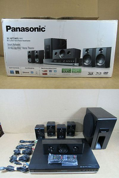 Home Theater Systems: Panasonic Sc-Btt405 600W (Rms) Smart Network 3D Blu-Ray Disc Home Theatre System -> BUY IT NOW ONLY: $238.5 on eBay!