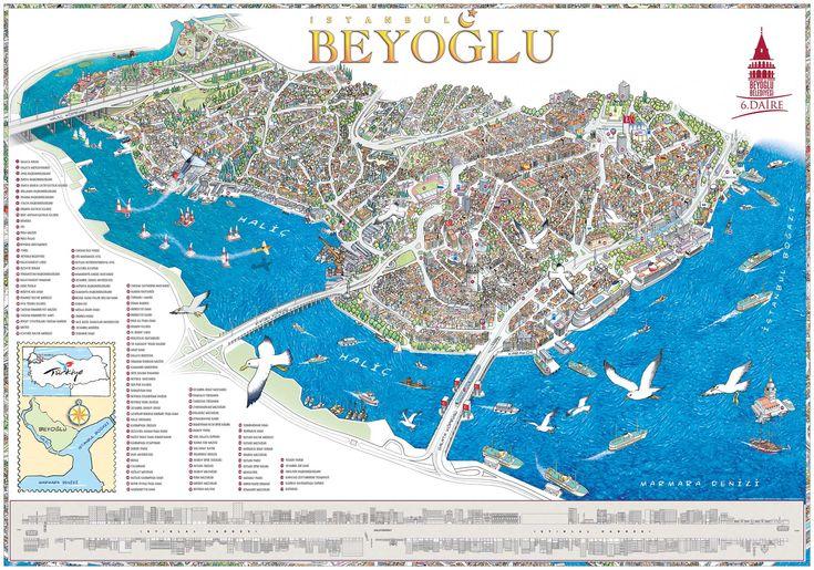 Beyoğlu Haritası