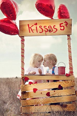 Valentine's Day Children Photography
