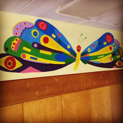 17 best images about eric carle classroom on pinterest for Eric carle mural