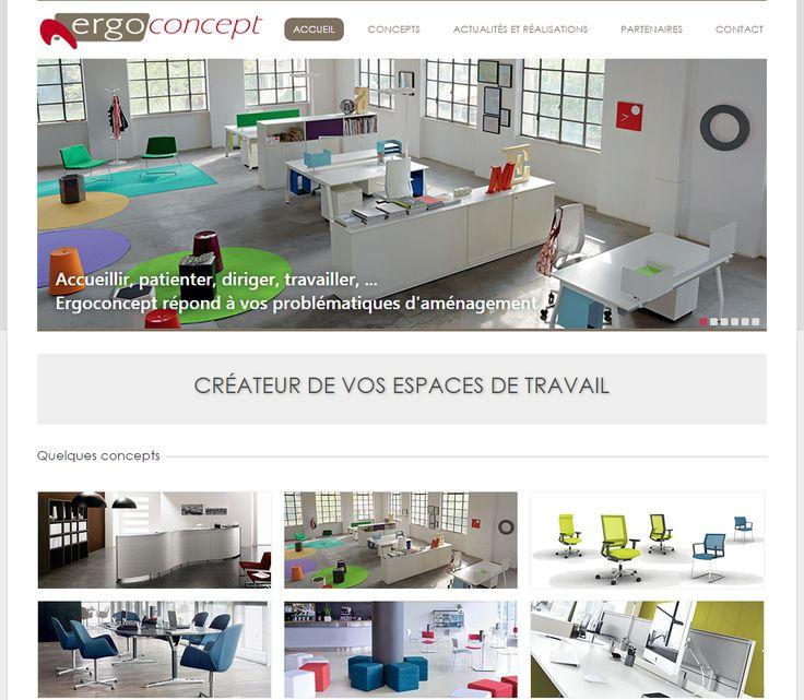 C-pub Studio dévoile le site de : http://www.ergoconcept.fr/