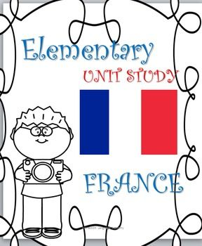 Elementary unit study on the country of France. Geography, history, flag, french revolution, holidays, celebrations, food, culture, worksheets, grades 1-5, crossword puzzle, activities, kulture klassroom, printables, coloring, reading comprehension, fill in the blanks, matching activity, word search, jumble, religion, soccer, train, animals, rooster, french language, riddles lesson plan, idia lesson plan