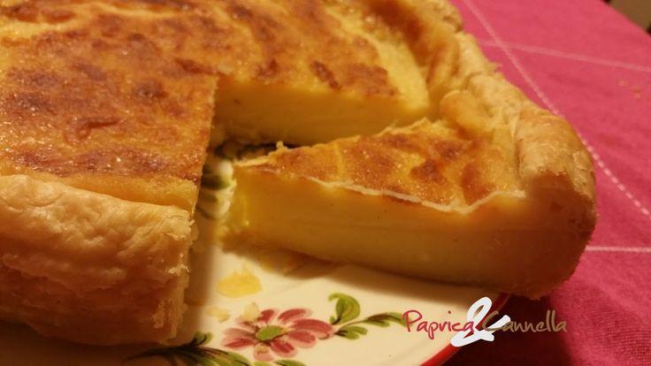 Torta Flan una ricetta Parigina | Paprica e Cannella
