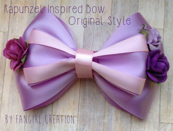 The Rapunzel Inspired Bow