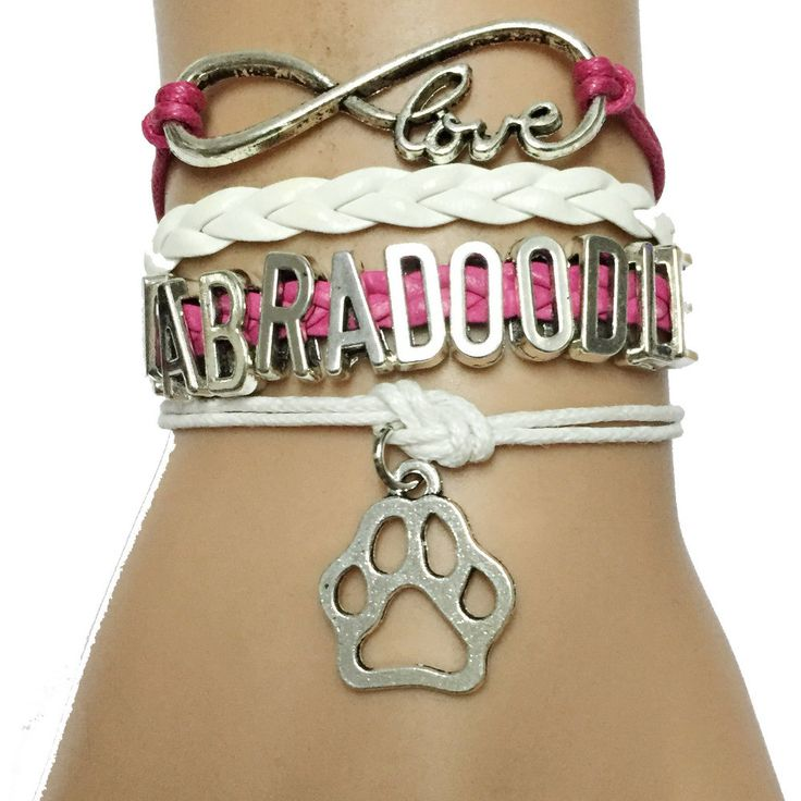 This Infinity Labradoodle Paw Bracelet is a great way to show appreciation to your dog. Add this to your cart today it will not stay in stock long! *Free shipping in the US Chain Type: Link Chain Leng