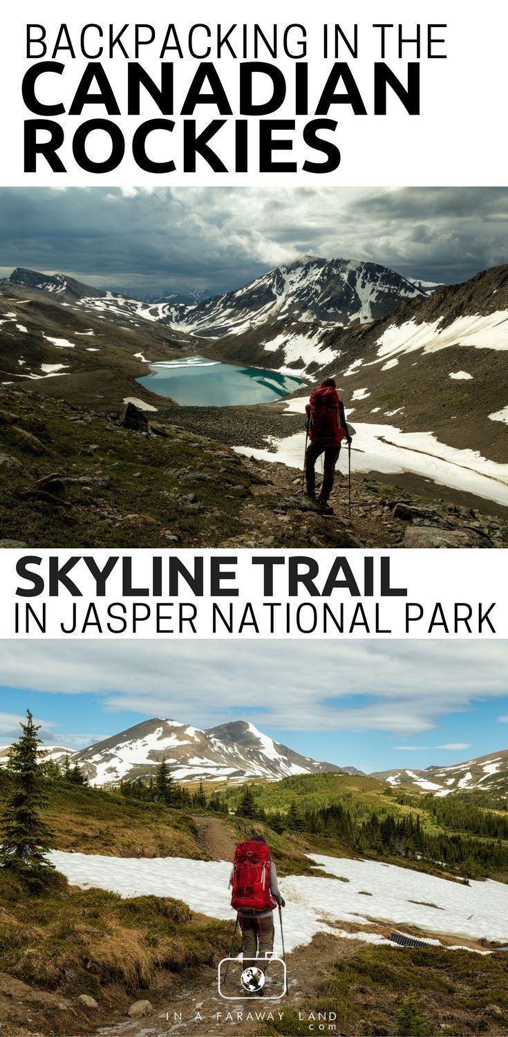 An informational guide on the Skyline Trail in Jasper National Park. Tips on what campsites to choose, trail conditions and daily breakdowns of the Skyline Trail. #Hiking #Camping #Backpacking #Canada