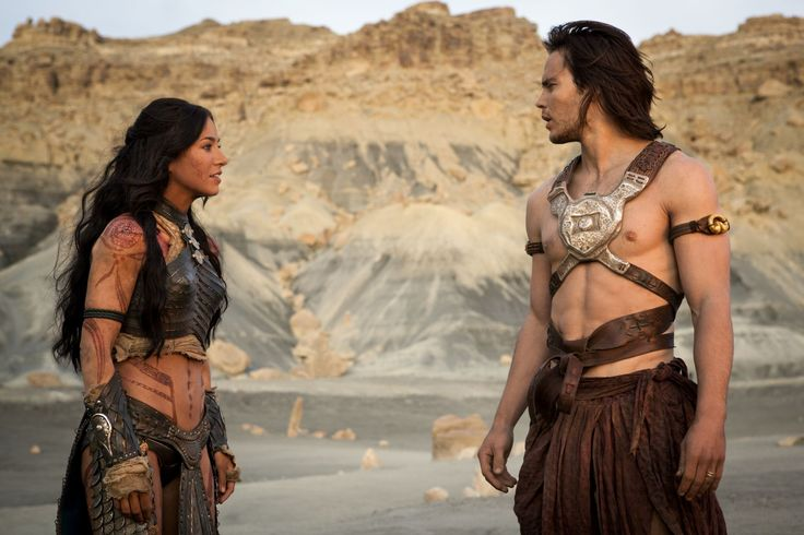 Lynn Collins and Taylor Kitsch (John Carter) - She is gorgeous!
