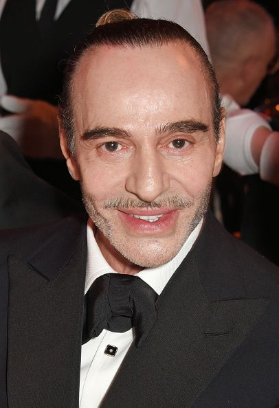 John Galliano attends a drinks reception ahead of The Fashion Awards 2017 in partnership with Swarovski at Royal Albert Hall on December 4, 2017 in London, England.