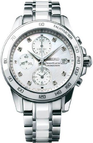 Seiko Sportura Chronograph with Date Women's watch SNDX95  **Shown in Nationwide Hope Solo Ad**