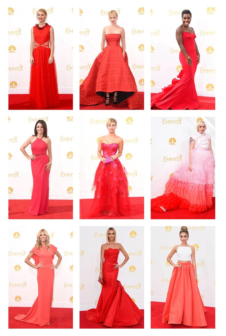A look back at the 2014 Emmy Awards Red Carpet style #Emmys #redcarpet #style #hollywood