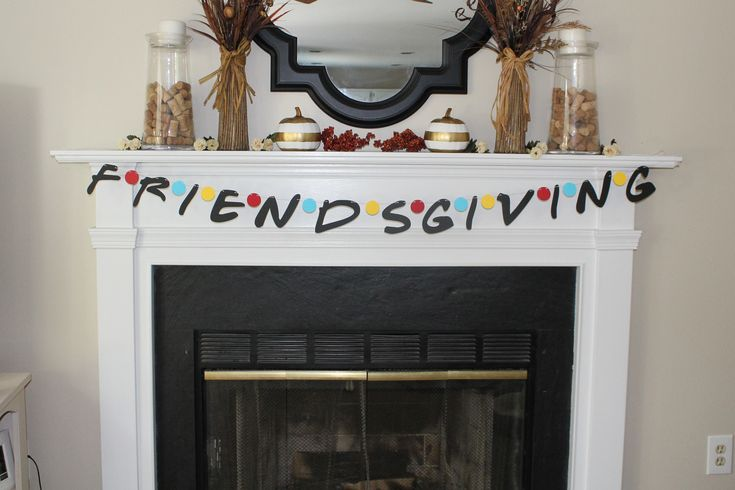 Friendsgiving Banner, Friendsgiving Friends TV Show Theme, Friends TV Show Font