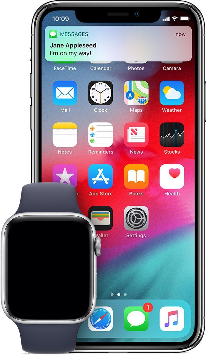 Mitteilungen Auf Der Apple Watch Mitteilung