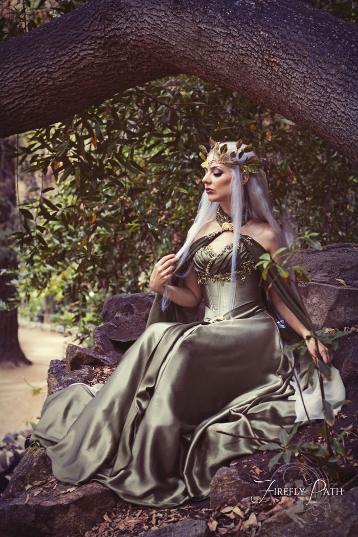 Bridal Elf by Lillyxandra female elf princess queen crown
