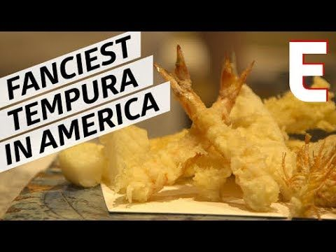 What does it take to be considered a tempura master? For chef Kiyoshi Chikano, who's behind the perfect fry technique at New York City's Michelin-starred Tem...