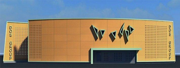 Πρόταση uf510dht για τον Αρχιτεκτονικό Σχεδιασμό  κτιριακού οργανισμού που θα στεγάσει Μονάδα Παραγωγής Ηλεκτρικής Ενέργειας ισχύος 1Mw από Φυτική Βιομάζα (Woodchip), ενόψει της έναρξης υλοποίησης εγκατάστασης Μονάδων 1Mw από την Dos Energy .