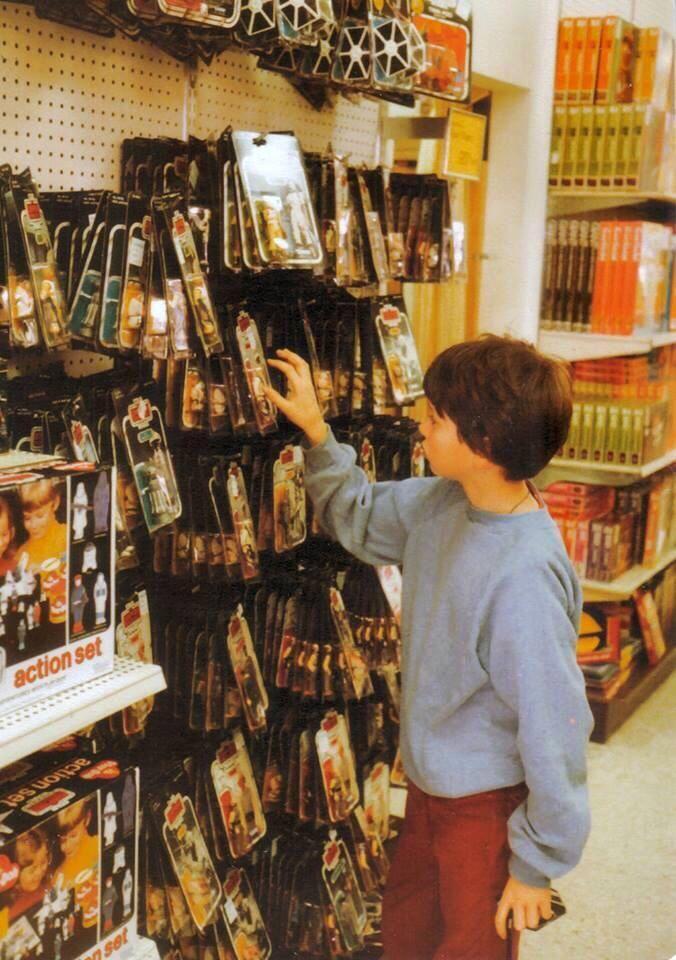 Star wars jouets vintage