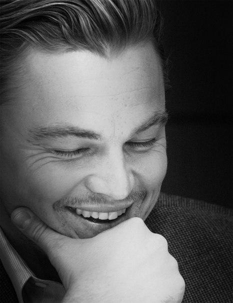 smiling Leo.