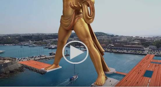 wowshareit.blogspot.com: Εντυπωσιακό Βίντεο: Δείτε τον Κολοσσό της Ρόδου σε...