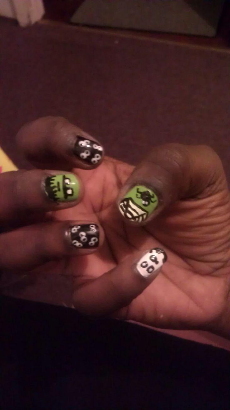 92 besten Nails Bilder auf Pinterest   Nageldesign, Perfekte nägel ...