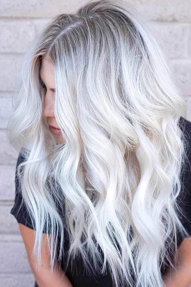 30 Creative Grey Hair Color Ideas Blonde Hair With Highlights