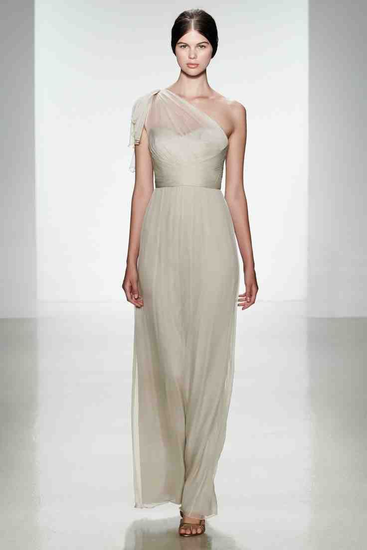 50 best images about chiffon bridesmaid dresses on pinterest one silk chiffon bridesmaid dress ombrellifo Choice Image